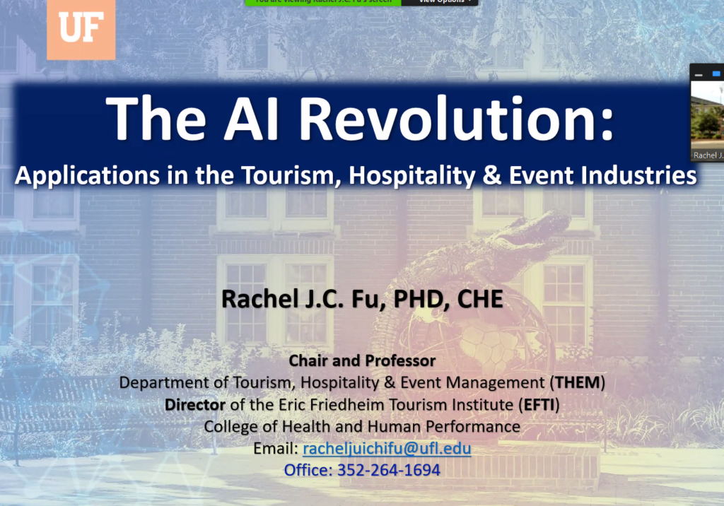 AI Advances and Applications Virtual Seminar Series – Dr. Rachel J. C. Fu