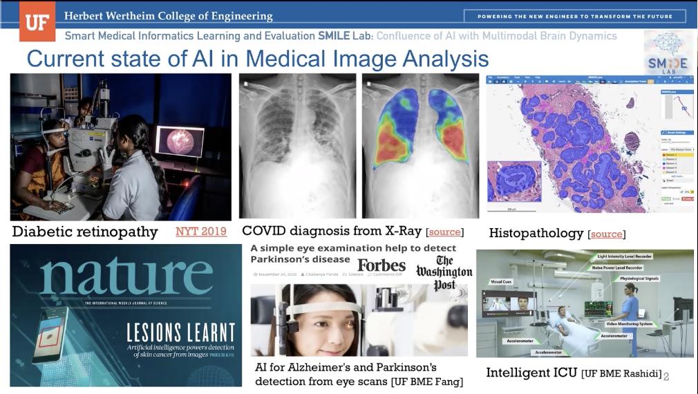 AI in Health: Ruogu Fang, Jiang Bian, Eric Triplett and Tezcan Baslanti