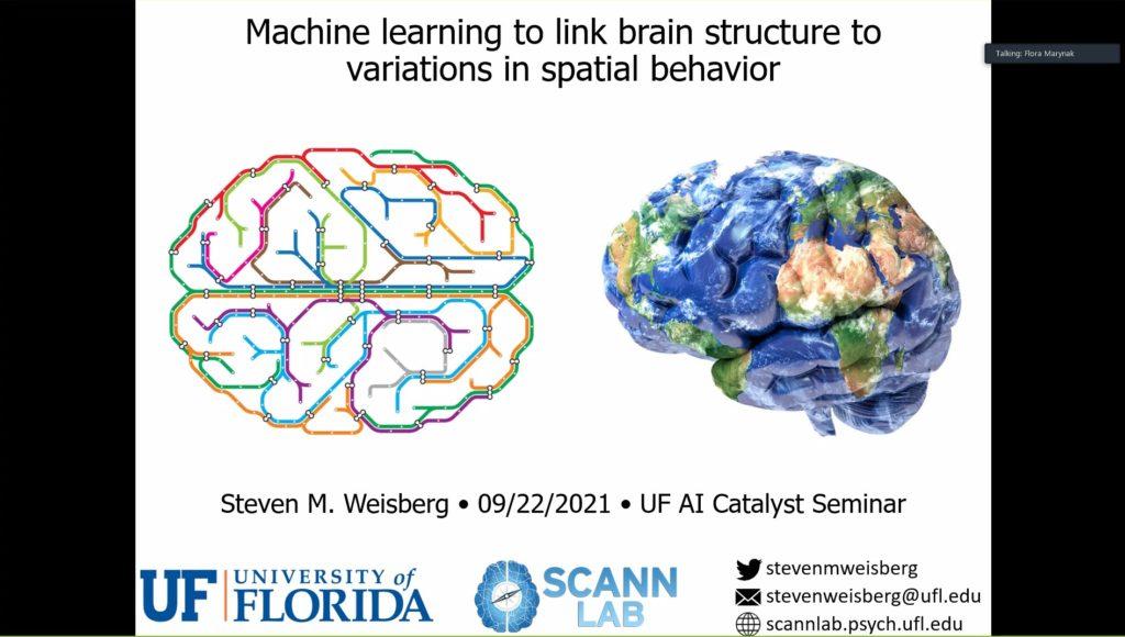 AI Research Catalyst Fund Awardees Virtual Seminar Series – Dr. Steven Weisberg