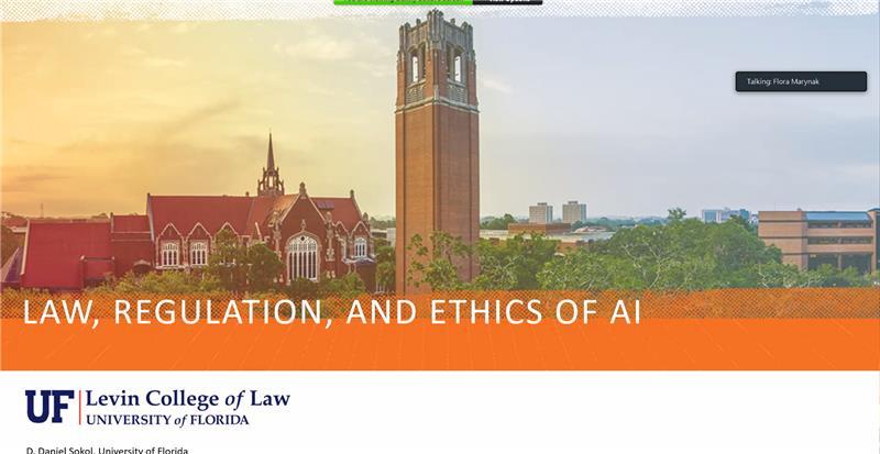 AI Advances and Applications Virtual Seminar Series – Dr. D. Daniel Sokol