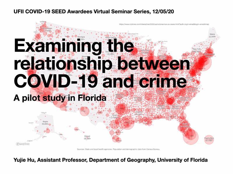 UFII COVID-19 SEED Awardees Virtual Seminar Series – Dr. Yujie Hu