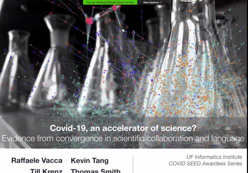 UFII COVID-19 SEED Awardees Virtual Seminar Series – Dr. Kevin Tang and Dr. Raffaele Vacca