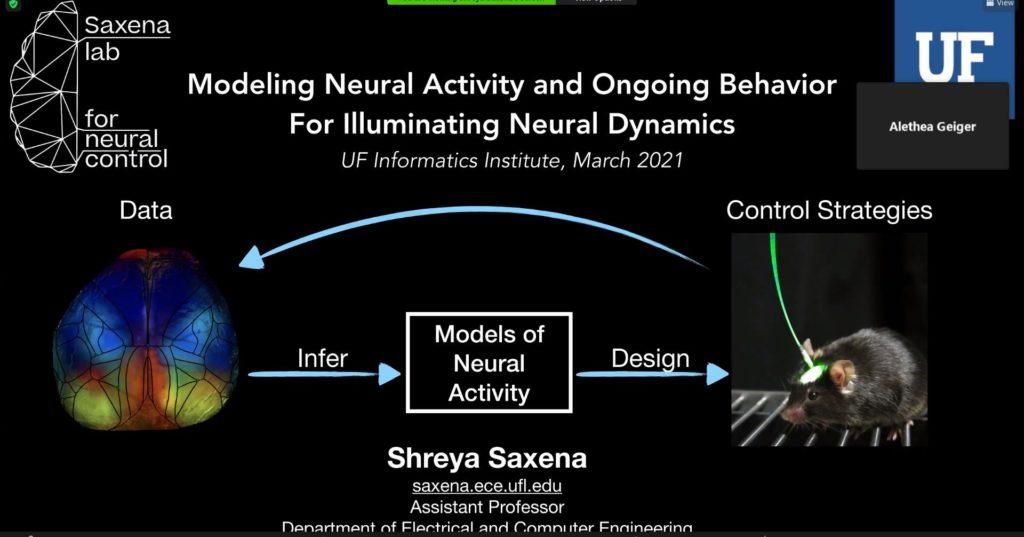 AI Advances and Applications Virtual Seminar Series – Dr. Shreya Saxena