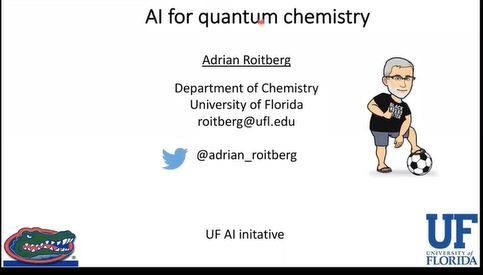 AI Advances and Applications Virtual Seminar – AI for Quantum Chemistry