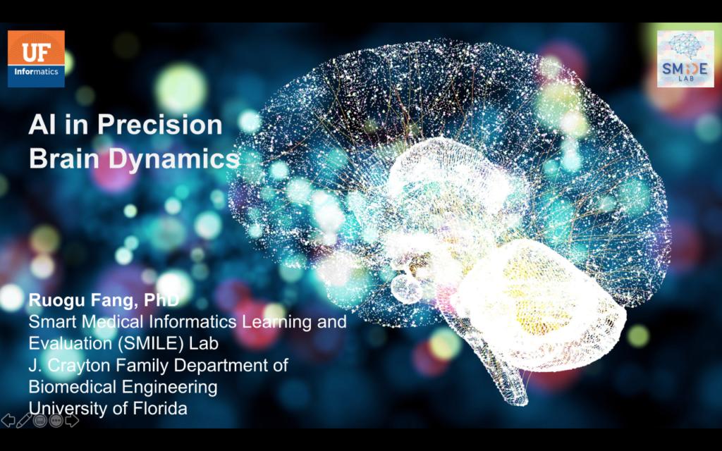AI Advances and Applications Virtual Seminar Series – Dr. Ruogu Fang