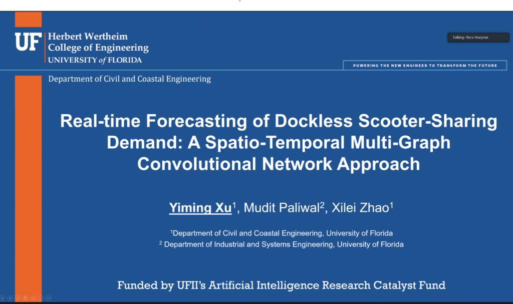 AI Research Catalyst Fund Virtual Seminar Series – Yiming Xu